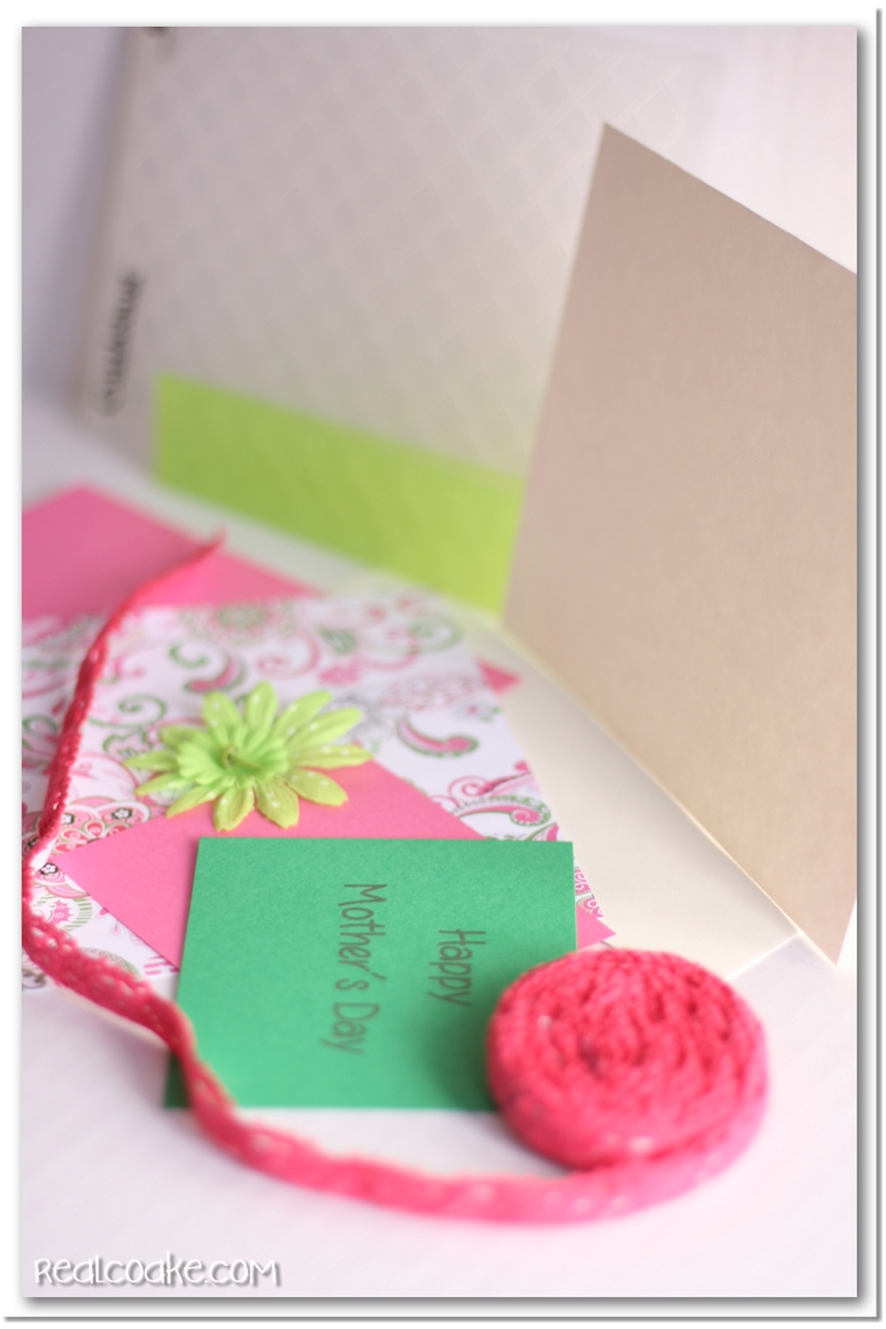 mother s day card tutorial the real thing with the coake family