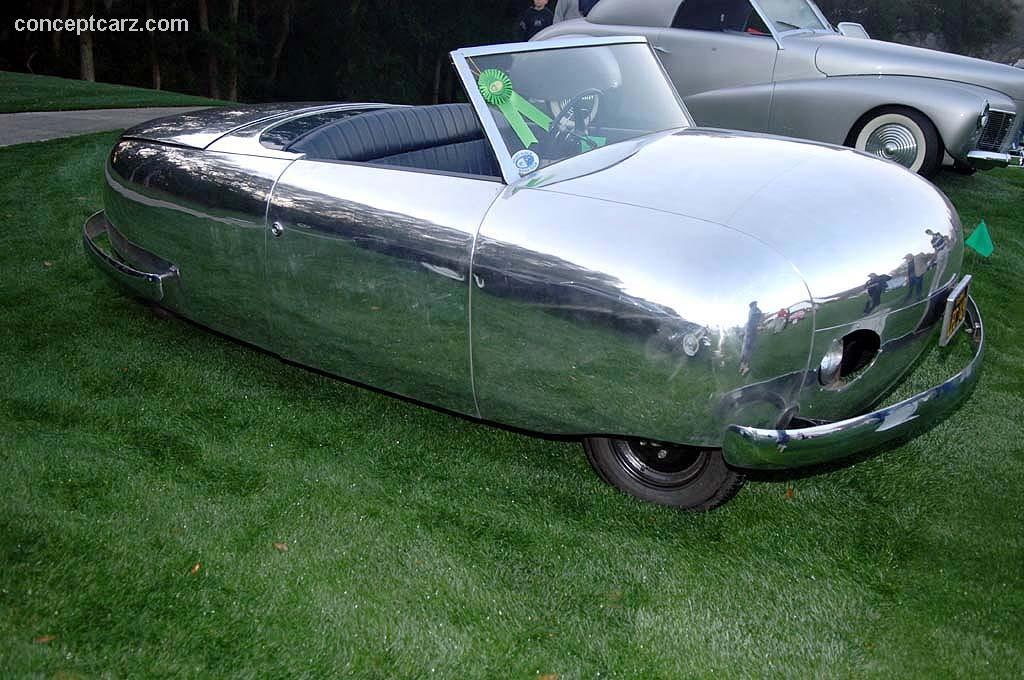 Vintage concept cars