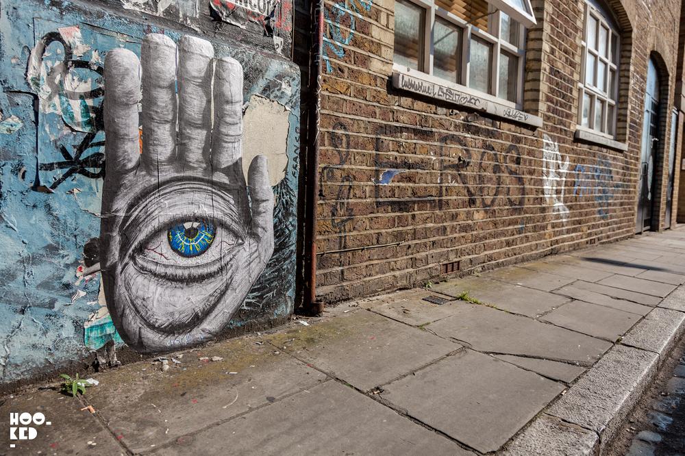 London Street Art Paste-ups in Shoreditch