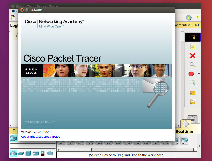 cisco packet tracer 7.1 download linux