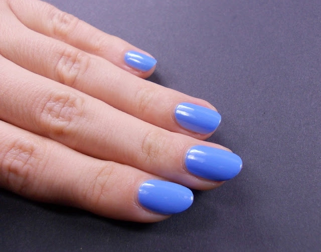 Alessandro Baby blue nail polish swatch review 5