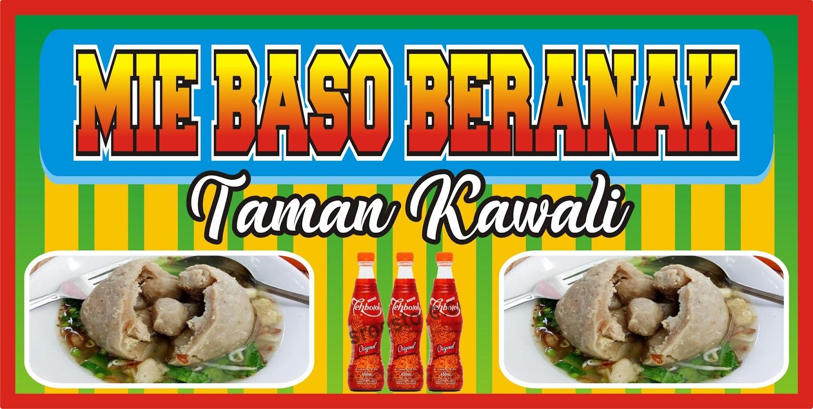 Banner Mie Ayam Dan Bakso Cdr - desain spanduk keren