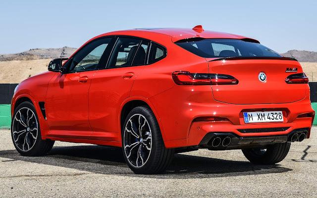 Novo BMW X4 M 2020