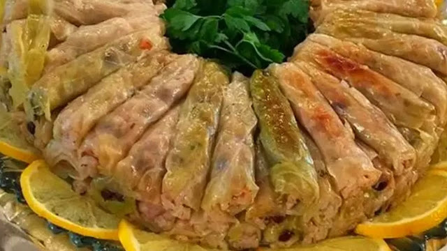 Malfouf Stuffed Cabbage
