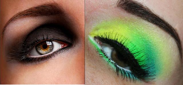 smokey eyes neon