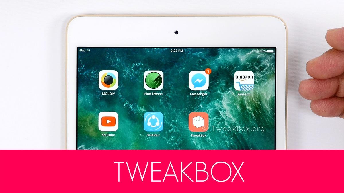 How to install TweakBox App on iOS 11 - TrickyAdmin
