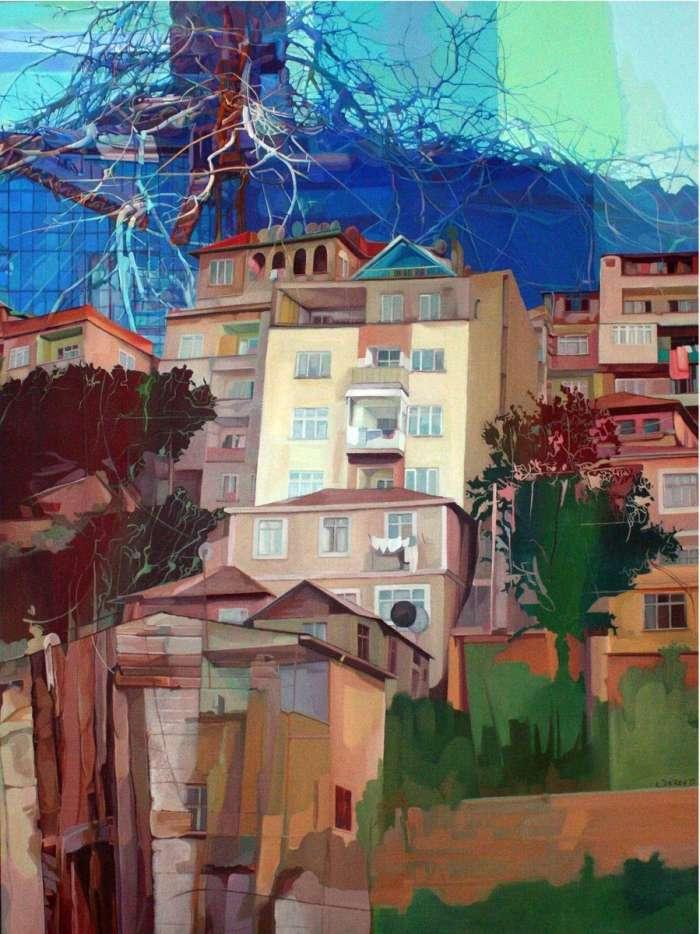 Турецкая художница. Selda Eren