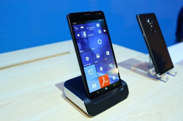 HP Elite 3 Windows 10 mobile mendapat dukungan fingerprint