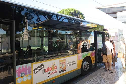 728 Lisbon Bus, Belem, Portugal.