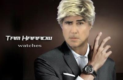 La linea fittizia di orologi lanciata da Tam Harrow, l'alter ego di Tom Hooker