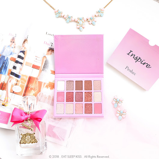 eat . sleep . kiss : Review: Prolux Cosmetics Inspired Palette