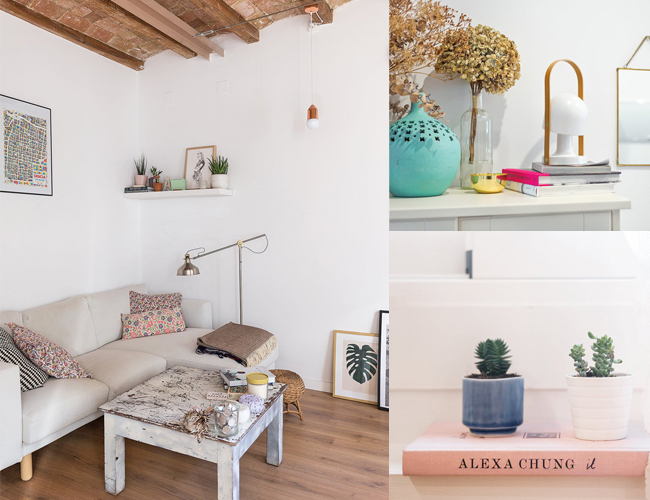 La casa de Anna Alfaro en Barcelona