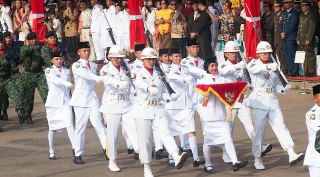 Kemenpora Secara Resmi Umumkan 68 Petugas Pasukan Pengibar Bendera Pusaka