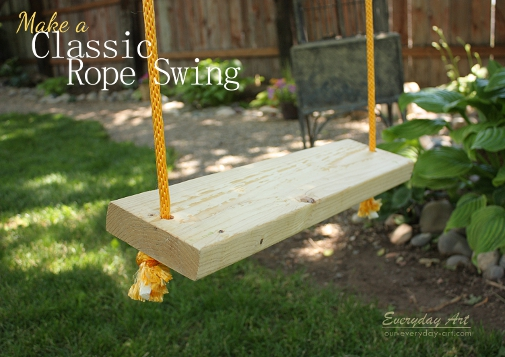 Make A Clic Rope Swing