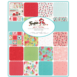 Moda Lil' Red Fabric by Stacy Iest Hsu for Moda Fabrics