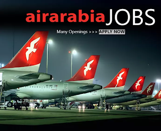 LATEST JOB VACANCY IN AIR ARABIA  - 2018