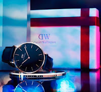 Source: Daniel Wellington. The 40mm Classic Black watch from Daniel Wellington.