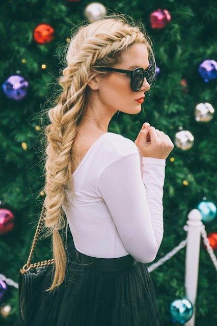 Fishtail briad Hairstyle