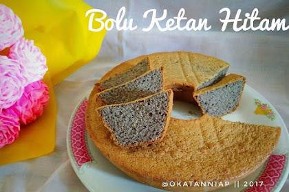 Resep & Cara Membuat Kue Bolu Ketan Hitam