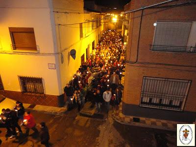 Resultado de imagen de via crucis penitencial 2016 en villarrubia