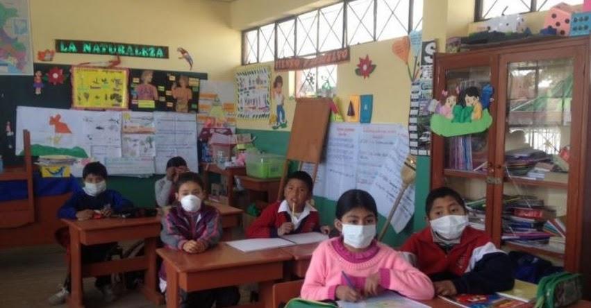 MINEDU suspende clases en Moquegua por expulsión de cenizas del volcán Ubinas