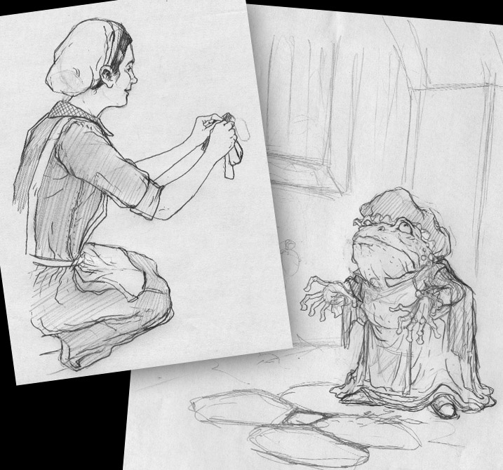 David petersen 39 s blog wind in the willows washerwoman for Wind in the willows coloring pages