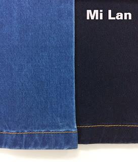Vải jean sới lụa S252