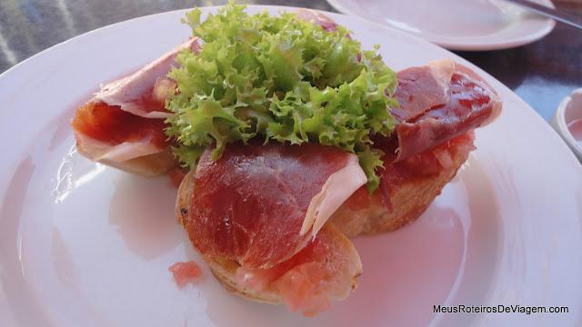 Tostadas de Baguete no Le Fournil