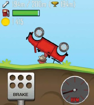 10 best free games for your phone or tablet Hill Climb Racing