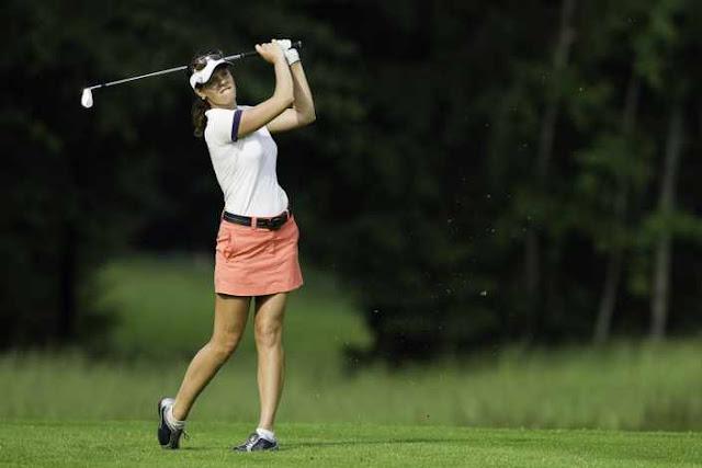 Miriam Nagl avança no ranking mundial de golfe