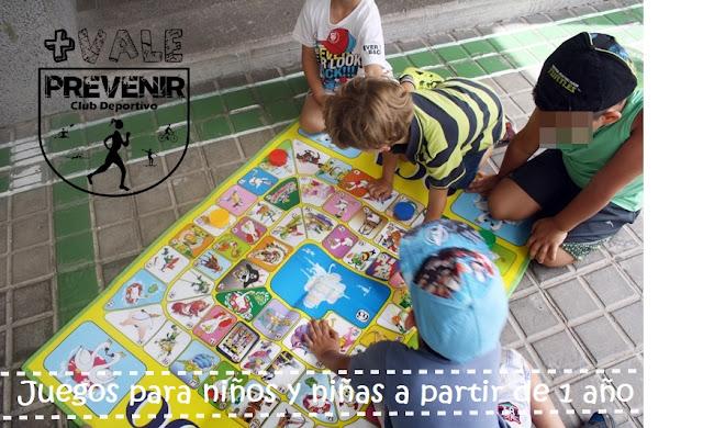 juegos para niños y niñas a partir de 1 año
