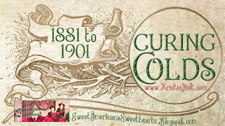 Kristin Holt | Curing Colds: 1881 to 1901