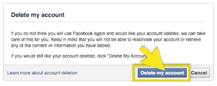 Steps on How to Permanently Delete Facebook Account