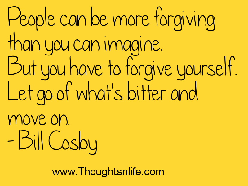 Thoughtsandlife: People can be more forgiving than you can imagine.