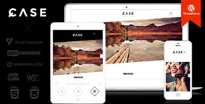 Download Case v1.9Themeforest Parallax One-page WP Theme