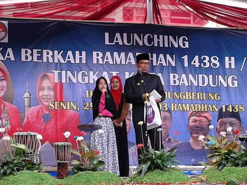 Launching Buka Berkah Ramadhan di Pasirjati Ujungberung