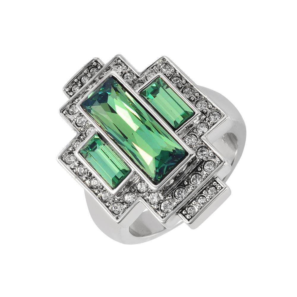 49e426465 Art Deco Swarovski Party Rings by Cristalina | Cristalina Jewellery