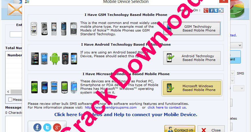bulk sms software free download crack