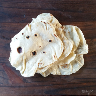 Simple homemade tortillas