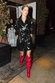 Doutzen Kroes Night Out In New York