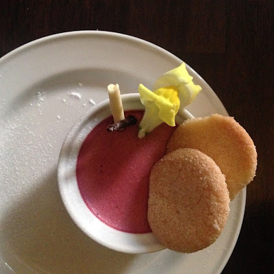 Blackcurrant & Beetroot Mousse