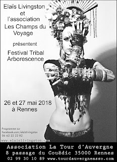 Elaïs Livingston, danse, tribal, fusion, ats, scène, méthode de gasquet, pilates, yoga, cours, stages, festival, tribale,