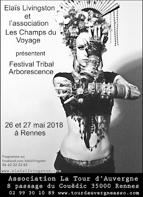 Elaïs Livingston, danse, tribal, fusion, ats, scène, méthode de gasquet, pilates, yoga, cours, stages, festival, tribale,