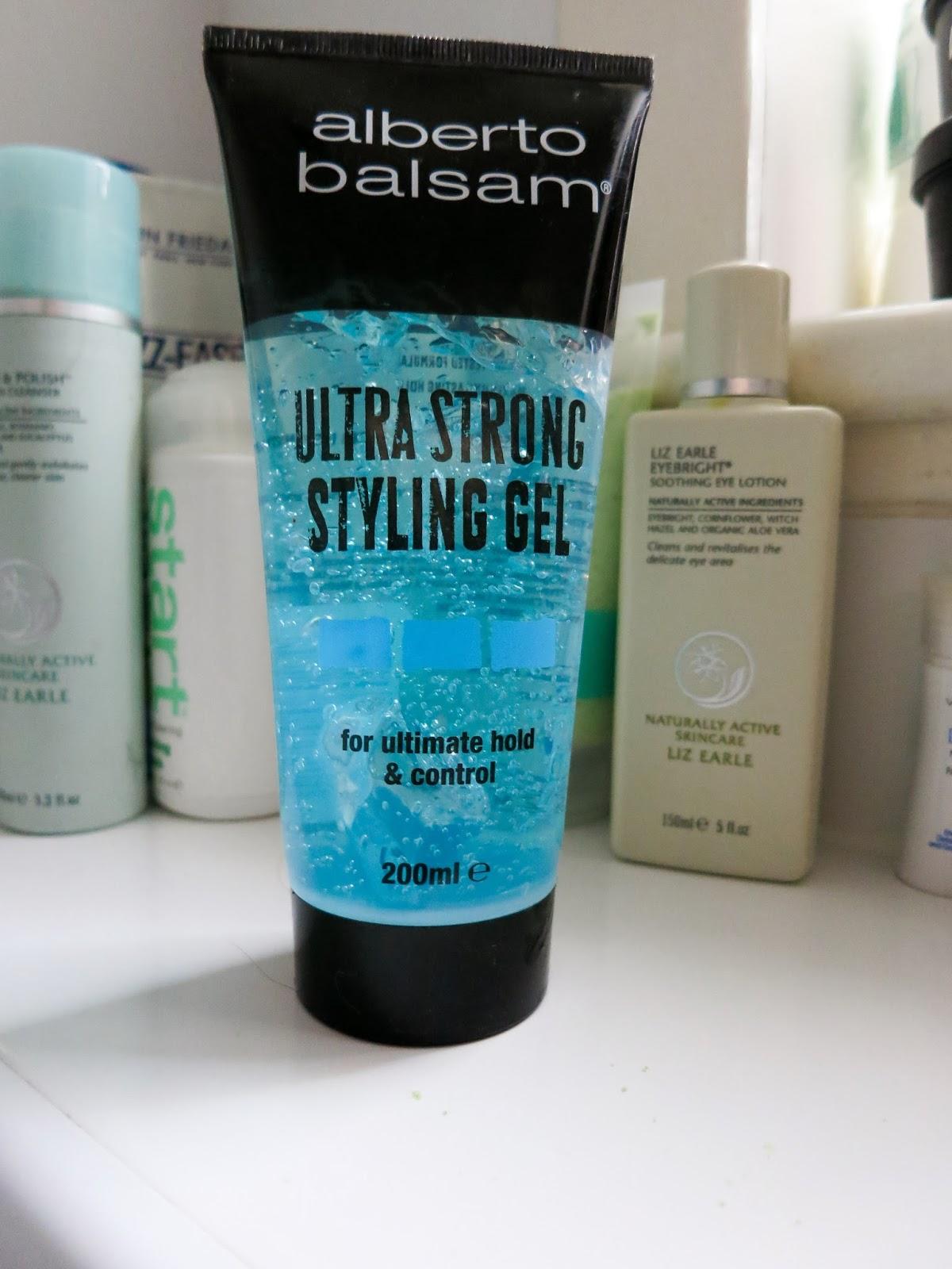 Alberto Balsam Ultra Strong Styling Gel