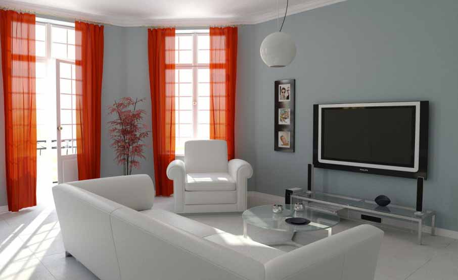 Minimalist Living Room Design From Cilacap On Pinterest