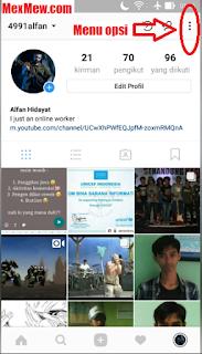 opsi instagram,terakhir dilihat,sedang aktif