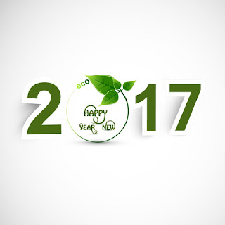Eco Friendly happy new year 2017 wallpapers
