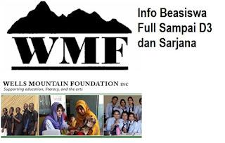 INFORMASI BEASISWA WMF 2016 DENGAN LULUSAN SAMPAI D3 DAN S1