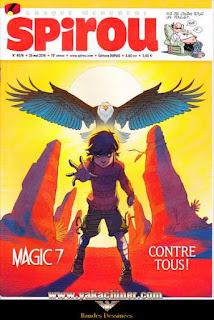 Chaque mercredi, Spirou, Magic 7, numéro 4076, année 2016