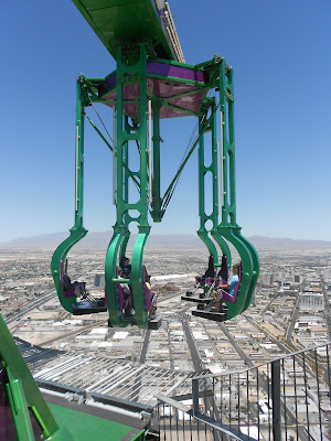 Insanity - Stratosphere - Las Vegas brinquedos radicais do Estratosfera